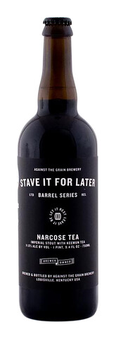 Against The Grain Narcose Tea Imperial Stout
