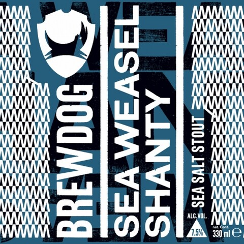 BrewDog Sea Weasel Shanty Sea Salt Stout