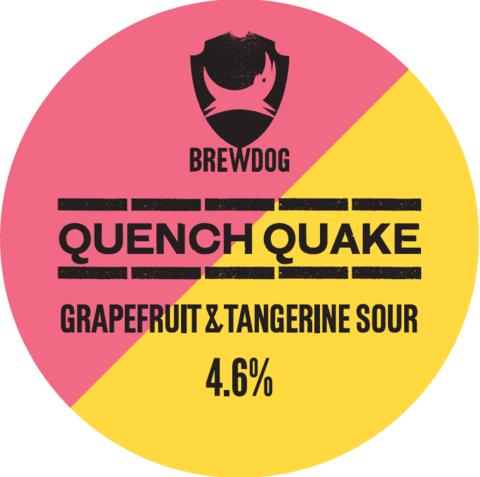 BrewDog Quench Quake Grapefruit and Tangerine Sour