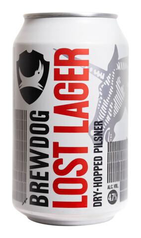 BrewDog Lost Lager Dry Hopped Pilsner