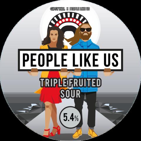 Gipsy Hill People Like Us V2 Triple Fruited Sour Ale