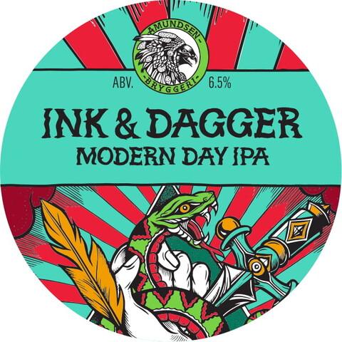 Amundsen Ink & Dagger Modern IPA