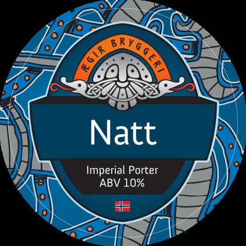 Ægir Natt Imperial Porter Tap