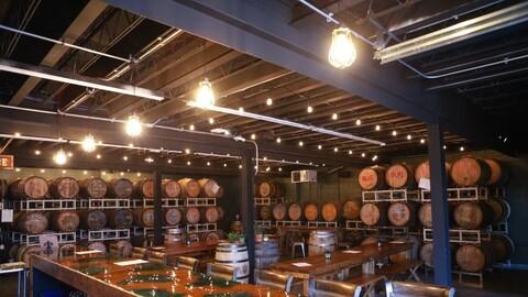Speciation Artisan Ales barrels