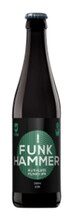 Bilde av en flaske med OverWorks Funk Hammer og hvit bakgrunn.