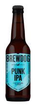 Bilde av en flaske med BrewDog Punk IPA