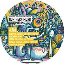 Northern Monk 4.06 Northern Tropics cereal milk ipa
