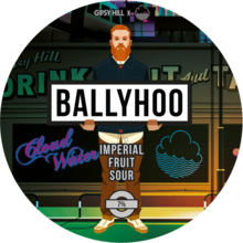 Gipsy Hill x Cloudwater Ballyhoo Imperial Fruit Sour badge