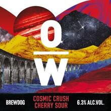 BrewDog overworks cosmic crush cherry