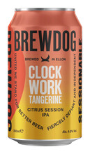 BrewDog Clockwork Tangerine Session IPA