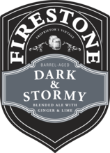 Firestone Walker Dark & Stormy Ale With Ginger and Lime