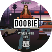 Gipsy Hill Doobie Passion Fruit Gose