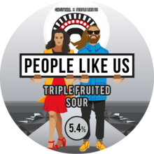 Gipsy Hill People Like Us V2 Triple Fruited Sour Ale