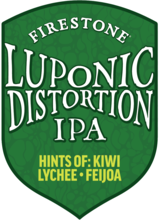 Firestone Walker Luponic Distortion tap lense