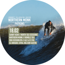 Northern Monk Patrons Project 18.02 // Sandy Kerr // North Sea Sessions // Humble Sea 30L KeyKeg