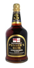 Pusser's Rum Gundpowder Proof