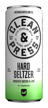 Bilde av en boks med Clean & Press Hard Seltzer Cactus & Lime.