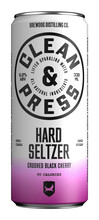 Bilde av en boks med Clean & Press Hard Seltzer Cherry.