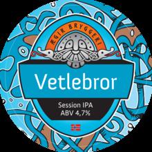 Ægir Vetlebror Session IPA Tap